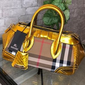 Authentic Burberry prosum bag